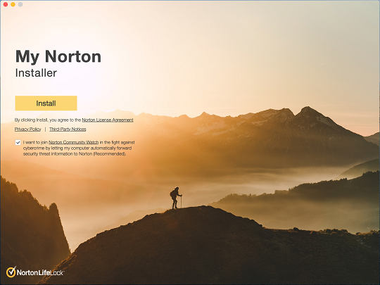 Install Norton Security